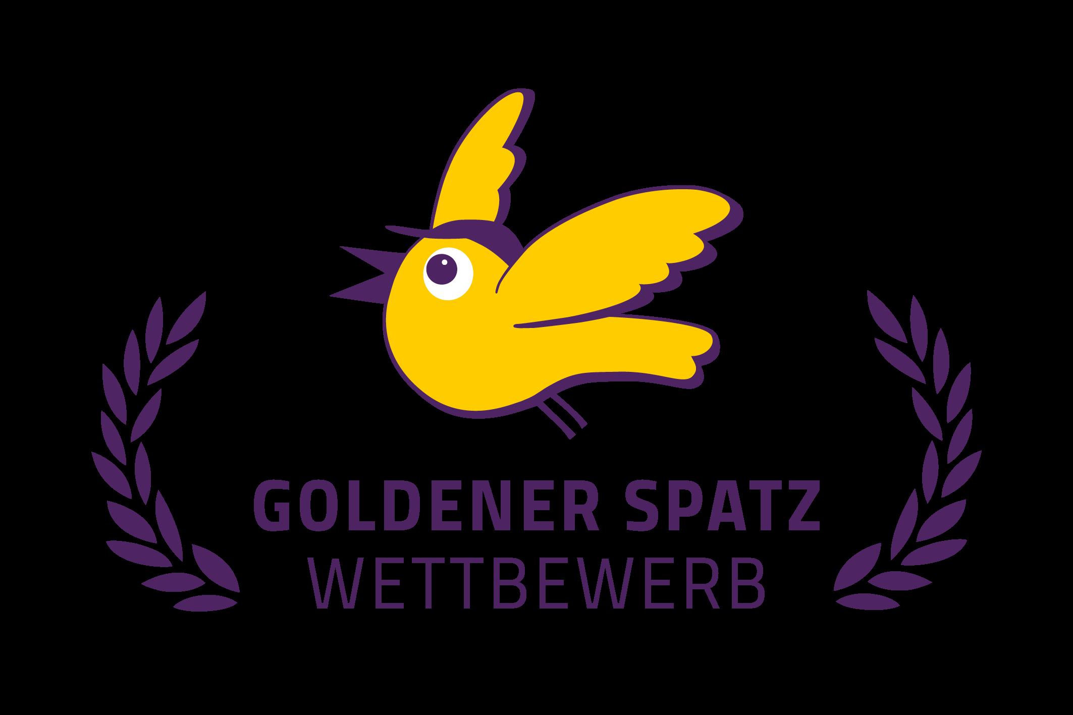 Goldener Spatz Wettbewerb Logo